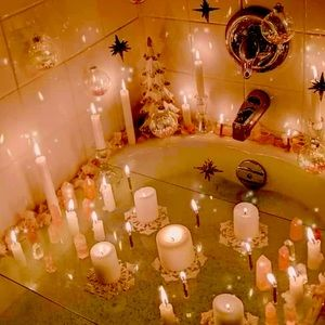 Anxiety Ritual Bath Candles Crystal Incense Oil T